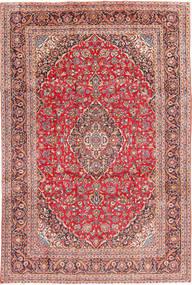 Keshan Matta 241X368 Äkta Orientalisk Handknuten Brun/Roströd (Ull, Persien/Iran)