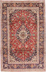 Keshan Matta 195X305 Äkta Orientalisk Handknuten Brun/Beige (Ull, Persien/Iran)