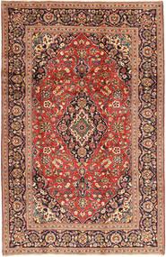 Keshan Matta 198X310 Äkta Orientalisk Handknuten Mörkröd/Mörkbrun (Ull, Persien/Iran)