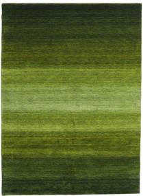 Gabbeh Rainbow - Grön Matta 210X290 Modern Mörkgrön/Olivgrön (Ull, Indien)