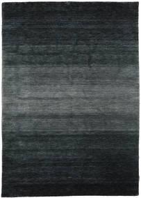 Gabbeh Rainbow - Grå Matta 160X230 Modern Svart/Mörkgrå (Ull, Indien)