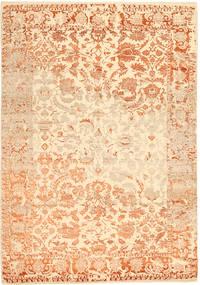 Roma Moderna Collection Matta 203X297 Äkta Modern Handknuten Mörkbeige/Beige ( Indien)