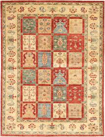 Ziegler Matta 172X235 Äkta Orientalisk Handknuten Mörkbeige/Röd/Beige (Ull, Indien)