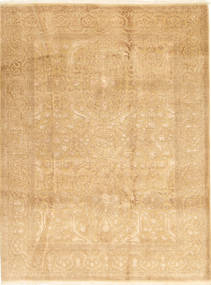 Tabriz Royal Matta 175X235 Äkta Orientalisk Handknuten Mörkbeige ( Indien)