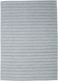 Kelim Long Stitch - Blå Matta 240X340 Äkta Modern Handvävd Ljusgrå/Ljusblå (Ull, Indien)
