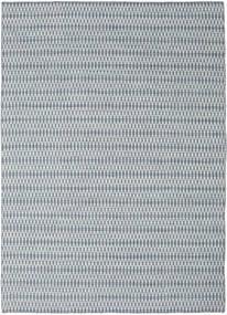 Kelim Long Stitch - Blå Matta 210X290 Äkta Modern Handvävd Ljusgrå/Ljusblå (Ull, Indien)
