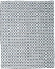 Kelim Long Stitch - Blå Matta 240X300 Äkta Modern Handvävd Ljusgrå/Ljusblå (Ull, Indien)