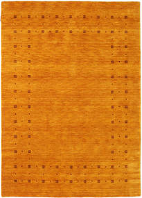 Loribaf Loom Delta - Guld Matta 160X230 Modern Orange/Gul (Ull, Indien)