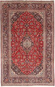 Keshan Matta 193X313 Äkta Orientalisk Handknuten Mörkröd/Brun (Ull, Persien/Iran)
