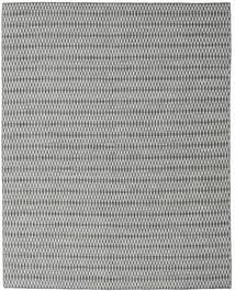 Kelim Long Stitch - Svart/Grå Matta 240X300 Äkta Modern Handvävd Ljusgrå/Turkosblå (Ull, Indien)