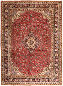 Hamadan Shahrbaf Matta 296X400 Äkta Orientalisk Handknuten Mörkbrun/Mörkröd Stor (Ull, Persien/Iran)