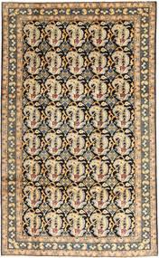 Najafabad Matta 196X320 Äkta Orientalisk Handknuten Mörkbeige/Ljusbrun (Ull, Persien/Iran)
