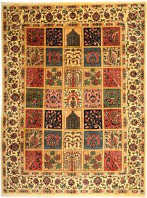 Bakhtiar Matta 298X400 Äkta Orientalisk Handknuten Brun/Mörkbeige Stor (Ull, Persien/Iran)