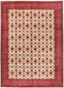 Afghan Khal Mohammadi Matta 295X395 Äkta Orientalisk Handknuten Mörkröd/Roströd Stor (Ull, Afghanistan)