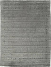 Loribaf Loom Delta - Grå Matta 290X390 Modern Mörkgrå/Ljusgrå Stor (Ull, Indien)