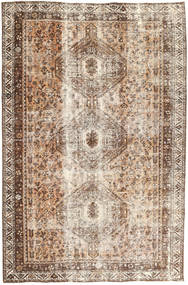 Colored Vintage Matta 183X285 Äkta Modern Handknuten Brun/Beige/Ljusgrå (Ull, Persien/Iran)