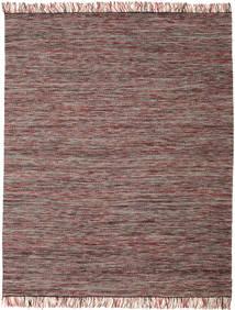 Vilma - Röd Mix Matta 250X300 Äkta Modern Handvävd Ljusbrun/Rosa Stor (Ull, Indien)
