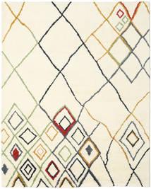 Berber Indisk - Off-Vit/Multi Matta 240X300 Äkta Modern Handknuten Beige/Vit/Cremefärgad (Ull, Indien)