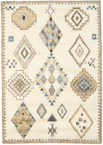 Berber Indisk - Naturvit/Beige Matta 160X230 Äkta Modern Handknuten Beige/Ljusbrun (Ull, Indien)