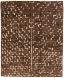 Gabbeh Persisk Matta 151X186 Äkta Modern Handknuten Mörkbrun/Brun (Ull, Persien/Iran)
