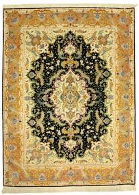Tabriz 70Raj Silke Varp Matta 152X205 Äkta Orientalisk Handknuten (Ull/Silke, Persien/Iran)