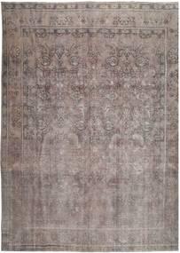 Vintage Matta 288X380 Äkta Modern Handknuten Mörkgrå/Ljusgrå Stor (Ull, Persien/Iran)