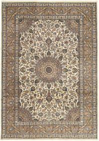 Keshan Patina Matta 242X347 Äkta Orientalisk Handknuten Ljusgrå/Ljusbrun (Ull, Persien/Iran)