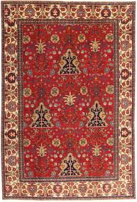 Tabriz Patina Matta 210X322 Äkta Orientalisk Handknuten Mörkröd/Roströd (Ull, Persien/Iran)