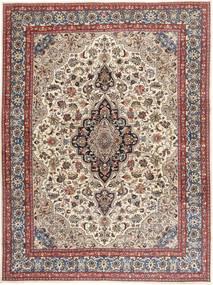 Kashmar Patina Matta 298X407 Äkta Orientalisk Handknuten Ljusgrå/Mörkröd Stor (Ull, Persien/Iran)