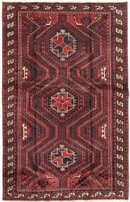 Lori Matta 167X262 Äkta Orientalisk Handknuten Mörkröd/Mörkbrun (Ull, Persien/Iran)
