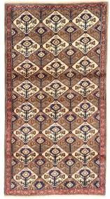 Koliai Matta 100X187 Äkta Orientalisk Handknuten Brun/Mörkröd/Beige (Ull, Persien/Iran)