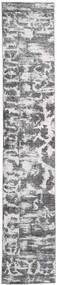 Colored Vintage - Persien/Iran Matta 65X383 Äkta Modern Handknuten Hallmatta Ljusgrå/Beige (Ull, Persien/Iran)
