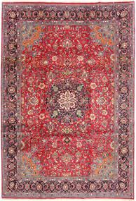 Sarough Matta 227X326 Äkta Orientalisk Handknuten Mörkröd/Brun (Ull, Persien/Iran)