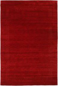 Loribaf Loom Beta - Röd Matta 190X290 Modern Mörkröd/Roströd (Ull, Indien)