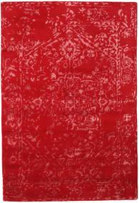 Orient Express - Röd Matta 140X200 Äkta Modern Handknuten Röd (Ull/Bambusilke, Indien)
