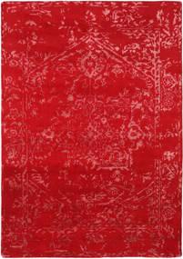 Orient Express - Röd Matta 160X230 Äkta Modern Handknuten Röd (Ull/Bambusilke, Indien)
