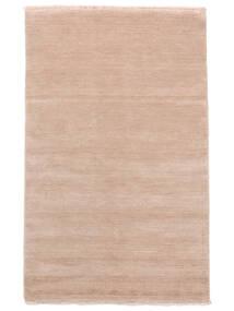 Handloom Fringes - Rosenrosa Matta 160X230 Modern Ljusrosa/Beige (Ull, Indien)
