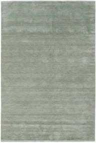 Handloom Fringes - Soft Teal Matta 300X400 Modern Ljusgrön/Mörkgrå Stor (Ull, Indien)