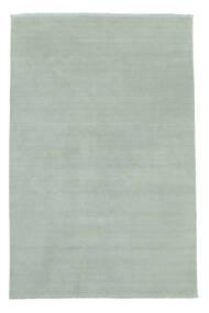 Handloom Fringes - Isblå Matta 200X300 Modern Ljusblå (Ull, Indien)