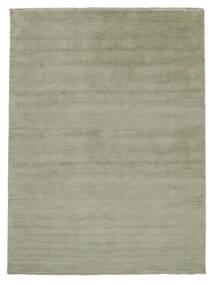 Handloom Fringes - Soft Teal Matta 200X300 Modern Ljusgrön/Mörkgrå (Ull, Indien)