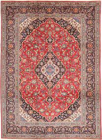 Keshan Matta 250X340 Äkta Orientalisk Handknuten Roströd/Brun Stor (Ull, Persien/Iran)