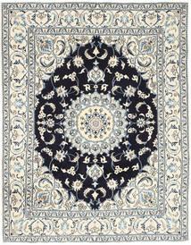 Nain Matta 193X250 Äkta Orientalisk Handknuten Ljusgrå/Beige (Ull, Persien/Iran)