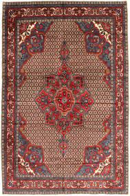 Koliai Matta 205X300 Äkta Orientalisk Handknuten Mörkröd/Mörkbrun (Ull, Persien/Iran)