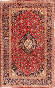 Keshan Matta 199X317 Äkta Orientalisk Handknuten Roströd/Mörkröd (Ull, Persien/Iran)
