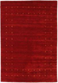 Loribaf Loom Delta - Röd Matta 160X230 Modern Mörkröd/Roströd (Ull, Indien)