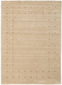 Loribaf Loom Delta - Beige Matta 160X230 Modern Beige/Mörkbeige (Ull, Indien)