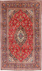 Keshan Matta 190X324 Äkta Orientalisk Handknuten Mörkröd/Roströd (Ull, Persien/Iran)