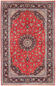 Keshan Matta 200X300 Äkta Orientalisk Handknuten Brun/Beige (Ull, Persien/Iran)