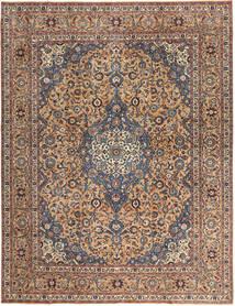 Keshan Patina Matta 292X385 Äkta Orientalisk Handknuten Mörkbrun/Mörkröd Stor (Ull, Persien/Iran)