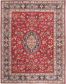 Tabriz Patina Matta 300X380 Äkta Orientalisk Handknuten Beige/Röd Stor (Ull, Persien/Iran)